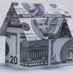 house made of bank bills